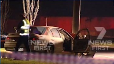 Police want anyone who saw the car driving erratically in the area on Tuesday to come forward.