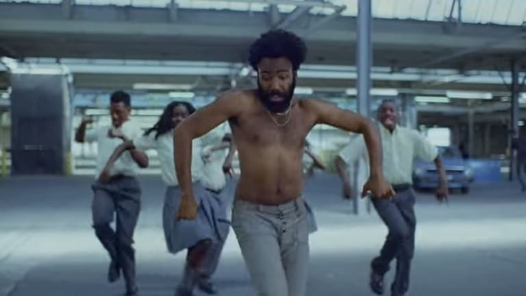 Childish Gambino's music video for <em>This Is America</em> was one of the most searched for YouTube videos.