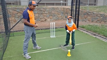 Masud Rahman runs the Canberra Cricket Academy to bring more kids into cricket.