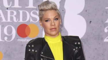 Singer Pink was not on the plane when the incident occurred.