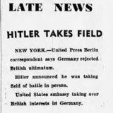 Extract from The Age, published on September 4, 1923