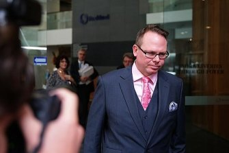 Gardner Brook, the Crown's star witness in the trial of the Obeids and Ian Macdonald.