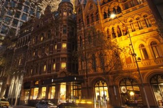 Mirvac booked profits from its Olderfleet development in Melbourne's Collins Street.