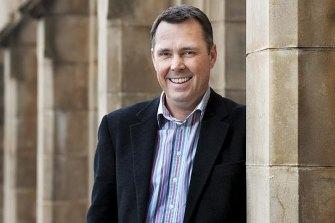 La Trobe University vice-chancellor Professor John Dewar says the university will shed 250 to 300 full-time equivalent jobs