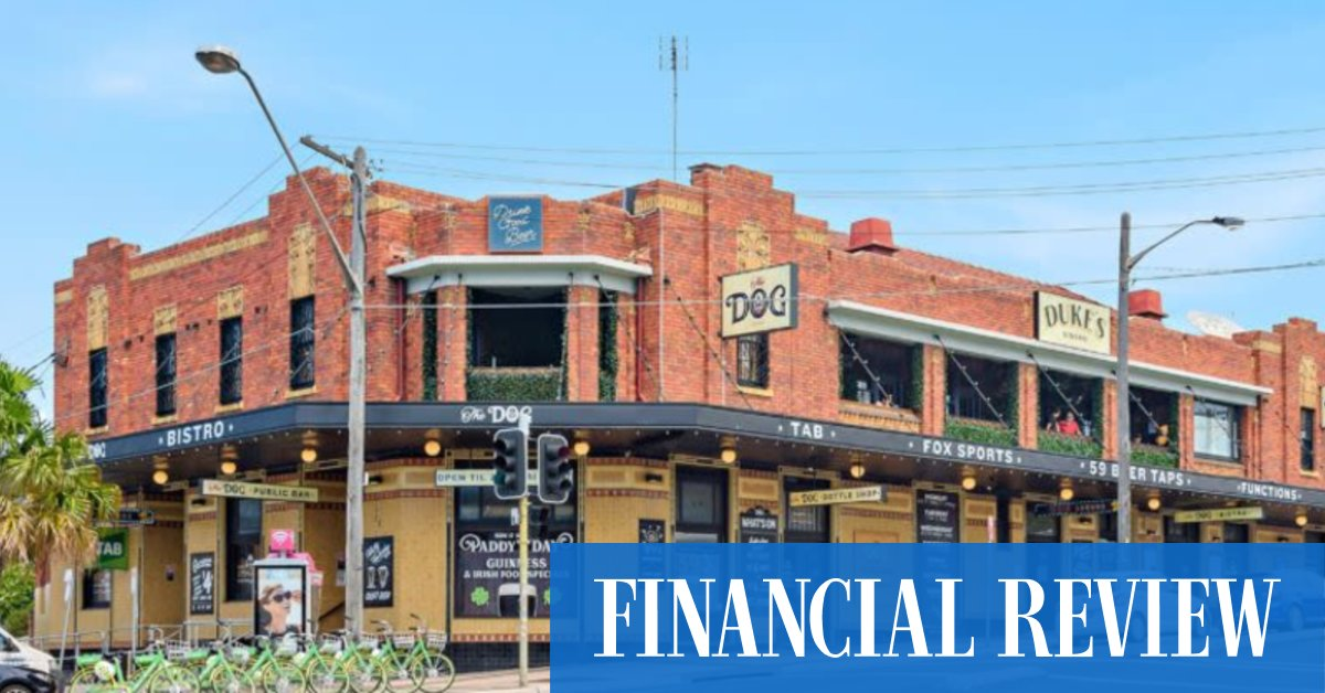 Merivale buys Randwick pub for $32m – The Australian Financial Review