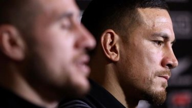 Milestone: Sonny Bill Williams will play his 50th Test for the All Blacks in Japan.