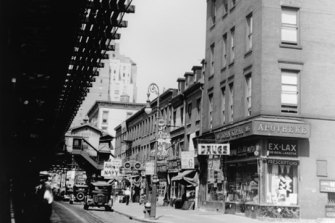Kiehl's now has more than 400 stores worldwide, but the original pharmacy in New York City, pictured here in the 1920s or 1930s, was a humble affair.