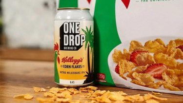 One Drop Brewing Co's limited edition Kellogg's corn flakes beer has sparked a complaint to the regulator.