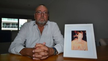 Heartbreak: Mandurah man Nigel Haines has called for assisted dying legislation after watching his wife Suzie suffer in the final years of her life.