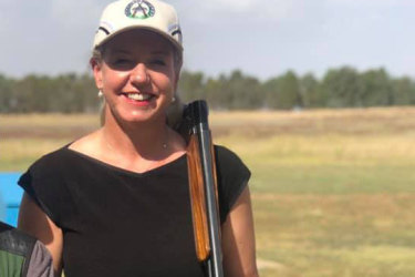 Senator Bridget McKenzie at the Wangaratta Clay Target Club