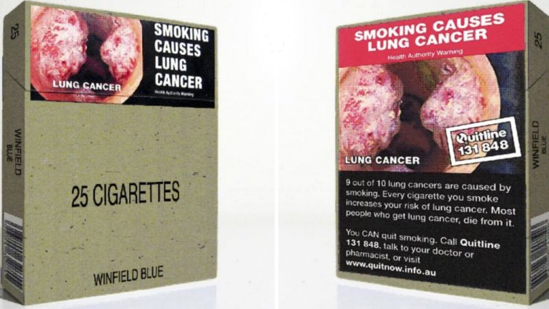 Graphic Tobacco Warnings Do Work On Teens Study Shows