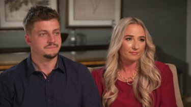 Luke and Sarah Allister told 60 Minutes of their fears for Hunter's life.