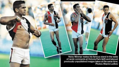 Buti's Call: Winmar's iconic gesture the most important in AFL history