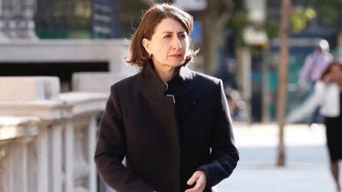 NSW Premier Gladys Berejiklian in Europe last week.