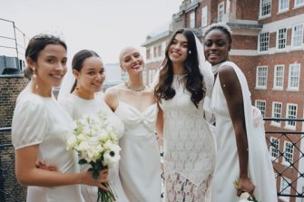 Rixo Bridal Collection, which debut at London Fashion Week in 2021.