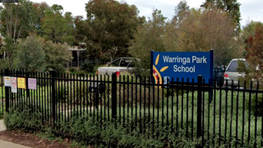 Warringa Park School in Hoppers Crossing.