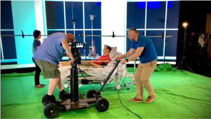 QUT team use Star Wars film technology to predict healthcare of the future