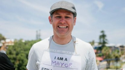 Freo mayor Brad Pettitt endorsed as part of Greens dream team to tackle next election