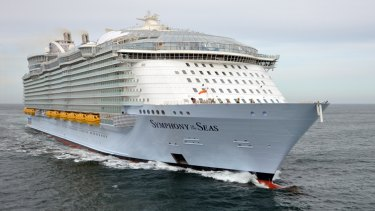 Royal Caribbean's Symphony of the Seas.