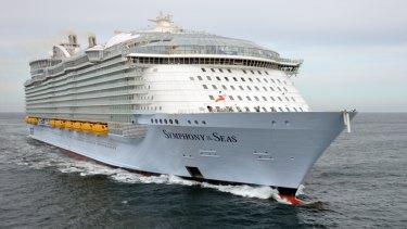 Royal Caribbean's Symphony of the Seas.