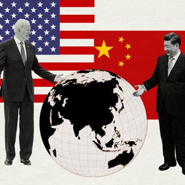 China-US superpower showdown