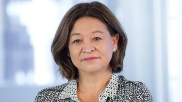 Sacked: ABC managing director Michelle Guthrie.
