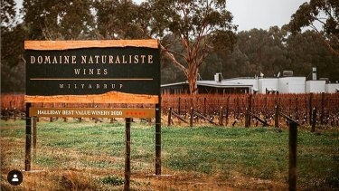 The Domaine Naturaliste cellar door is now open and well worth a visit.