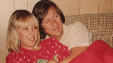 Sonya Szala, with her husband John, died from anorexia.