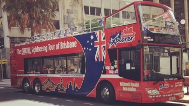 The Brisbane City Explorer bus stopped operating in 2017.