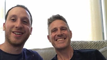 Michael Kahan with Wil Anderson.