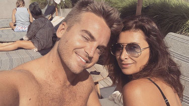 Old friends: James Maas and Jodhi Meares.