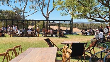 Swings and Roundabouts is one of the more relaxing wineries to eat and laze at now it's been renovated.