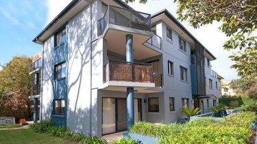 A three-bedroom Dee Why apartment Mr Fitzgerald purchased for $649,000 in 2011 and sold for more than $1.1 million in 2016.