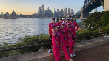 'What a brilliant city': Sixers toast new dawn after blockbuster BBL win