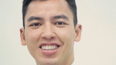 Independent candidate for Richmond Kevin Quoc Tran.