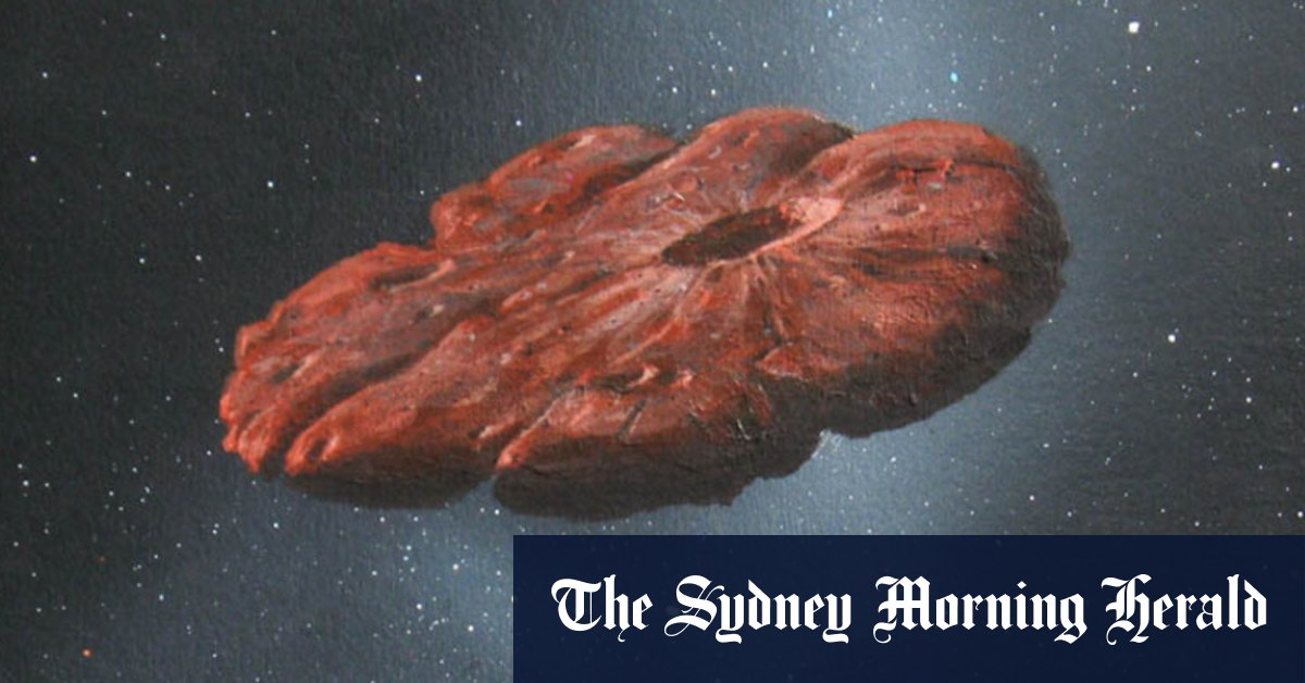 A cookie! First interstellar visitor is nothing like a cigar – Sydney Morning Herald