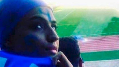 Iranian 'Blue girl' football fan sets fire to herself over sexist law