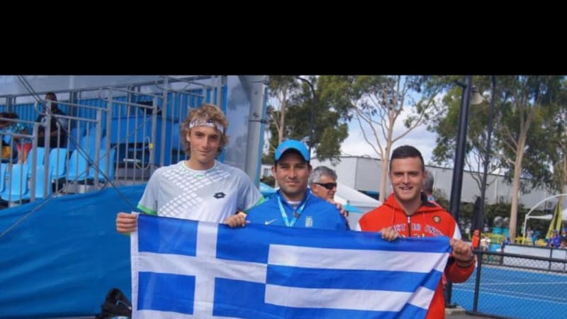 With friends in Greek places, Tsitsipas has Melbourne behind him