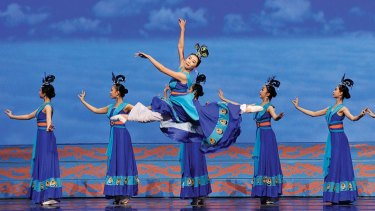 Falun Gong-linked Shen Yun dance troupe, which is based in New York, failed to secure a booking at a WA theatre in 2020.