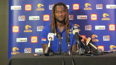 Nic Naitanui could return for the first week of the finals.
