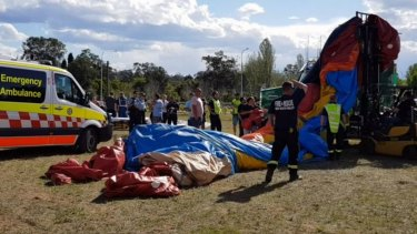Fruit market owners apologise after children injured in jumping castle accident