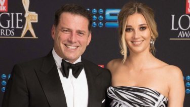 Karl Stefanovic with Jasmine Yarbrough,