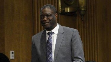Denis Mukwege won the 2018 Nobel Peace Prize.