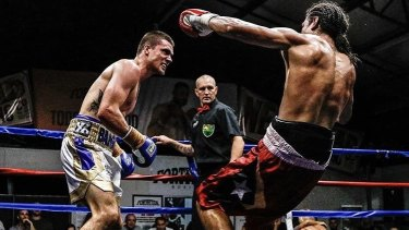 Australian welterweight champion Ben Kite (left) will fight the main bout at a fight night at the Fortitude to raise money for the fire-ravaged Fortitude Boxing, destroyed by fire in June 2019.