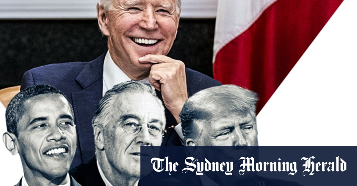 He ran as a moderate but Biden's first 100 days are bold and progressive – Sydney Morning Herald