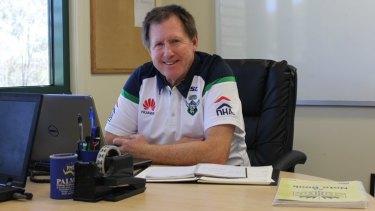 Raiders recruitment manager Peter Mulholland