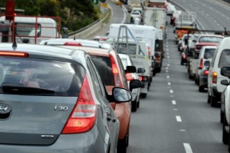 Traffic congestion is expected to get much worse on the Centenary Highway. Generic image.