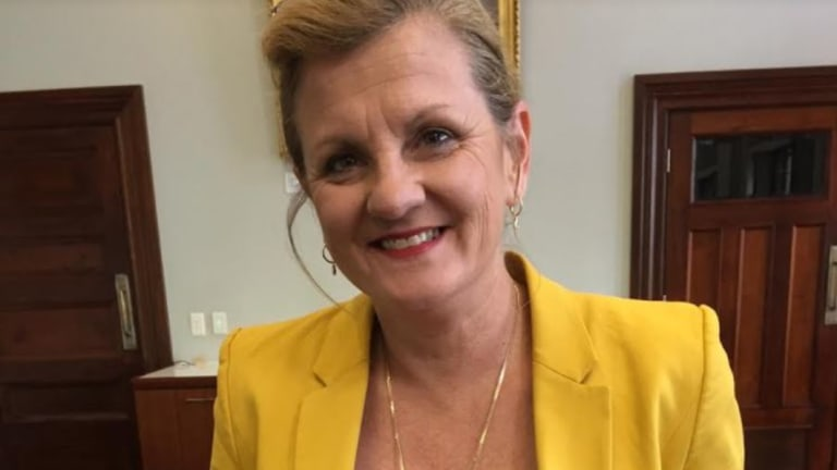 """Redland City mayor Karen Williams said the allocation of the land for housing was a """"real slap in the face""""."""