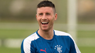 Former Rangers forward Michael O'Hallaron is on his way to the A-League.