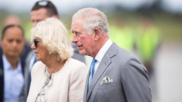 Prince Charles and Lady Camilla arrive in New Zealand.